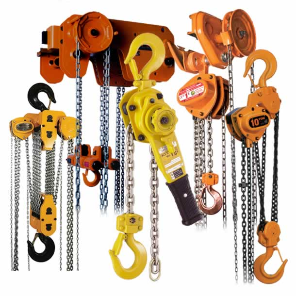 chain hoists range