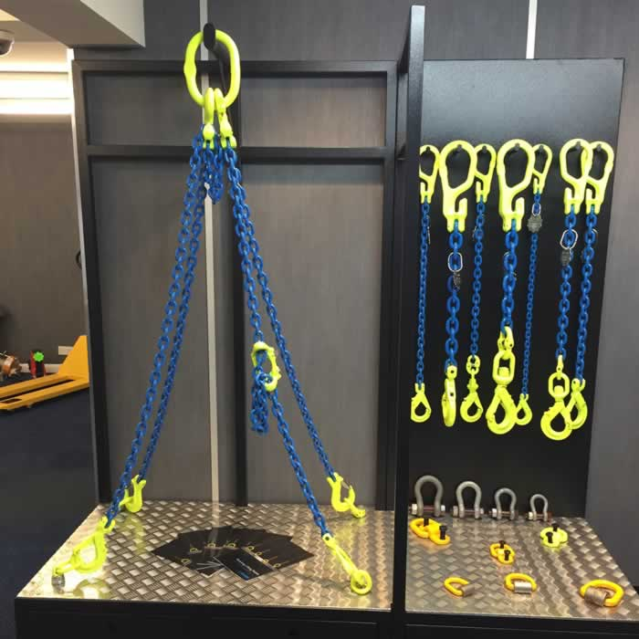 Gunnebo chain sling display