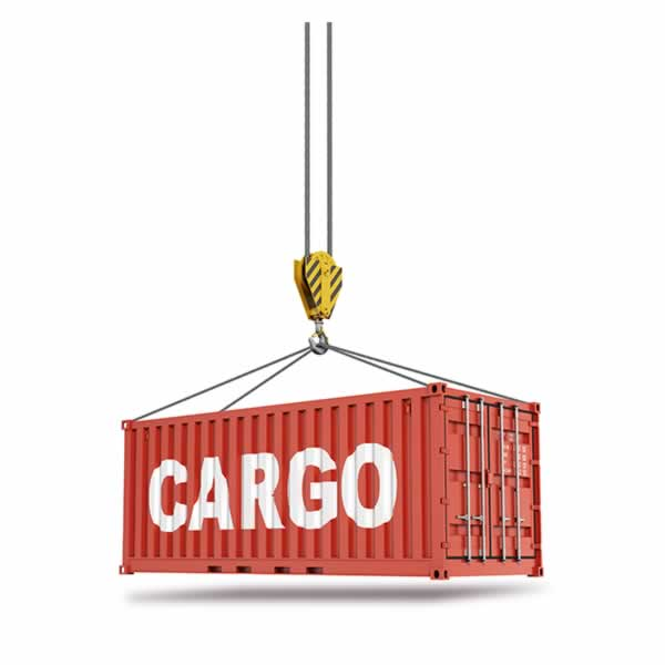 cargo lifting gear block and tackle
