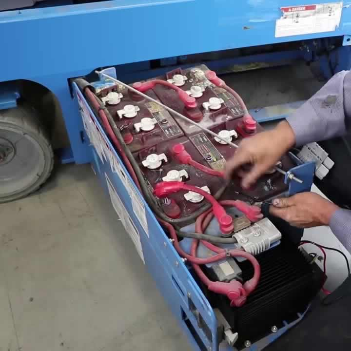 Genie battery bay repair