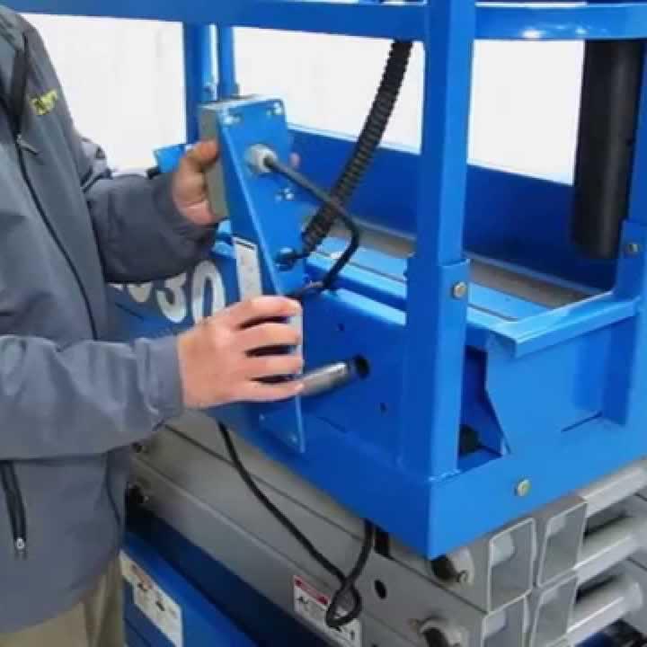 genie scissor lift repair 2