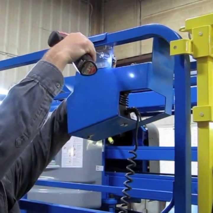 Genie scissor lift repair