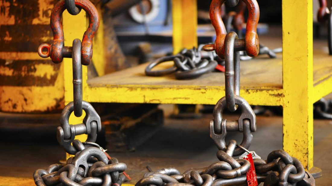 lifting gear chains and shackles
