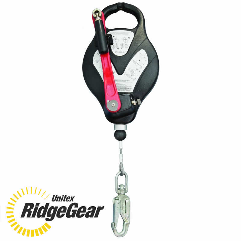 Ridgegear fall arrest block
