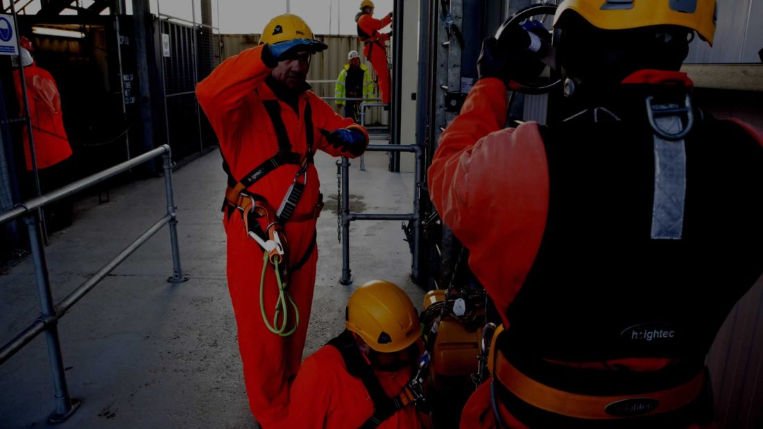 safety working at height rope access training course
