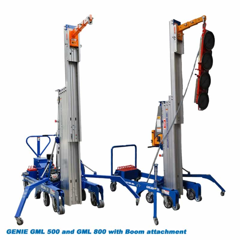 Genie GML Lifter with Boom, Jib and glass lifter