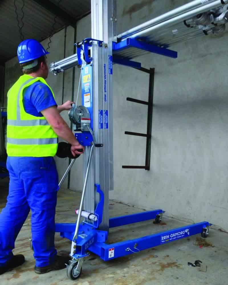 Genie SLA lifting poles